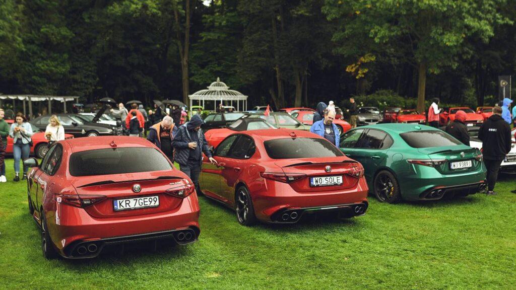 Alfa Romeo Giulia GTAm - polska premiera na zlocie ForzaItalia.pl