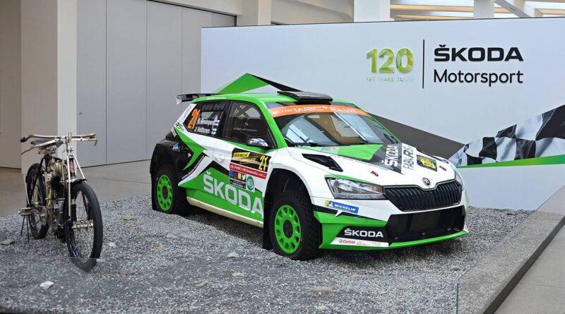120 lat motorsportu marki SKODA – nowa wystawa