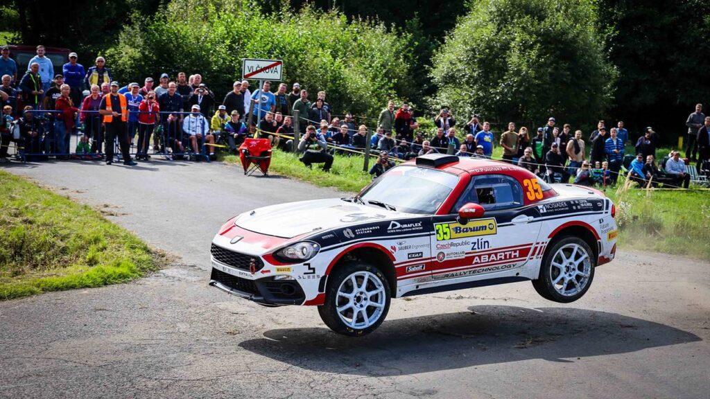 Dariusz Poloński i Łukasz Sitek Mistrzami Abarth Rally Cup 2021