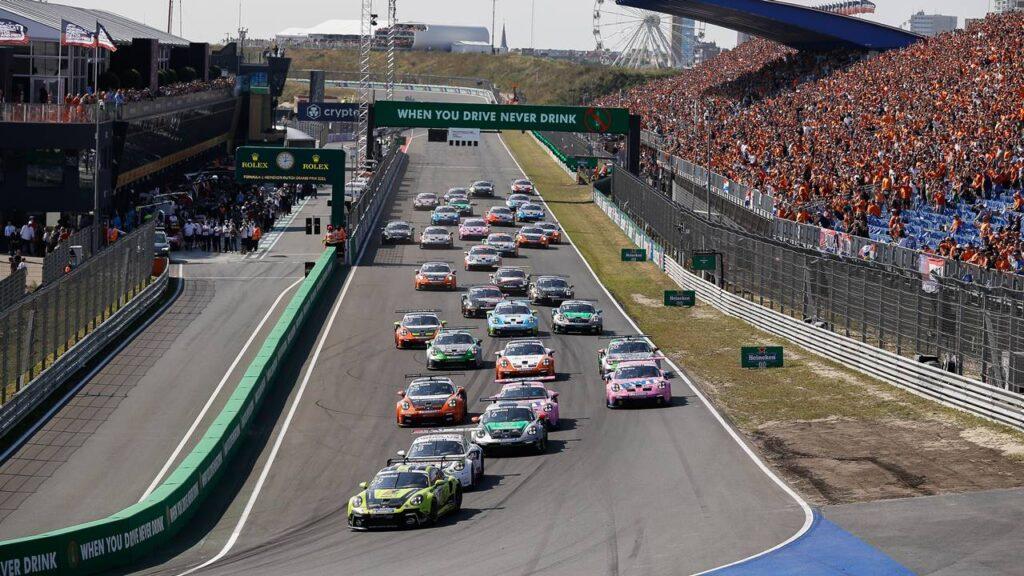 6 runda Porsche Mobil 1 Supercup 2021 na torze Zandvoort