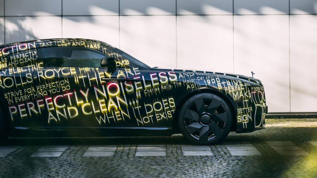 Zapowiedź pierwszego, elektrycznego Rolls-Royce - Spectre