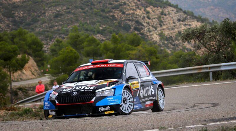 Rajd Hiszpanii 2021: Kajetanowicz i Szczepaniak na drugim miejscu w WRC 3