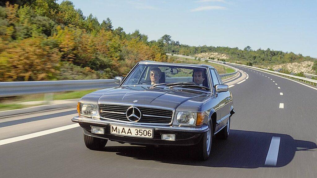 Mercedes-Benz SLC z 1971 r.