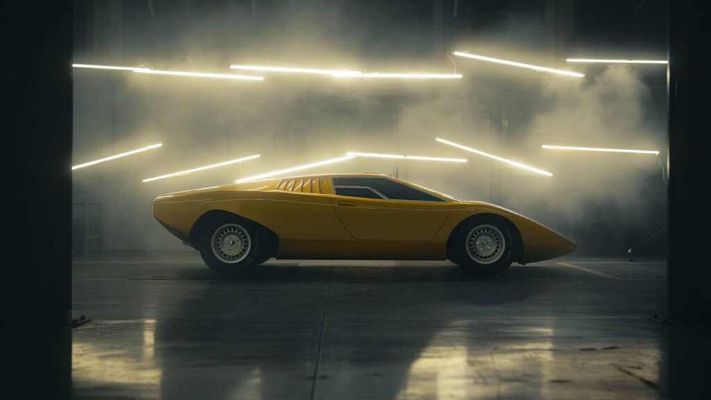 Lamborghini Countach LP 500 zbudowane na nowo