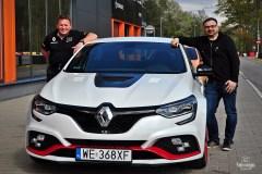 Leszek Kuzaj i Robert Czarnecki - test Renault Megane RS Trophy R
